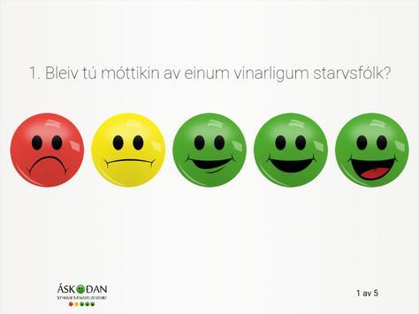 Áskoðan poster
