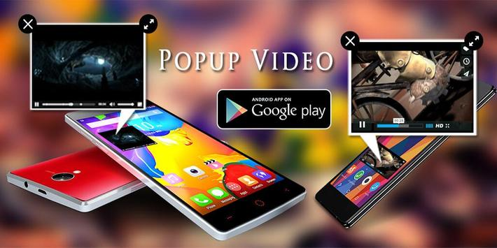 Pop Up Video Player Floating : Video Popups poster