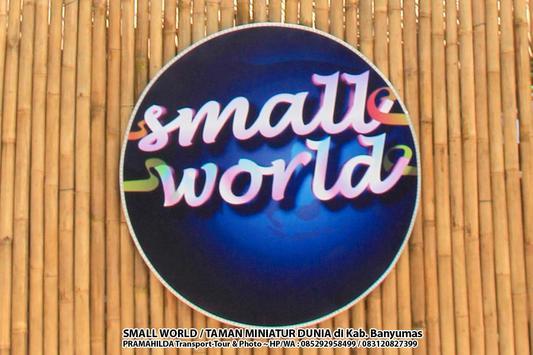SMALL WORLD Banyumas | Pramahilda Carter & Foto poster