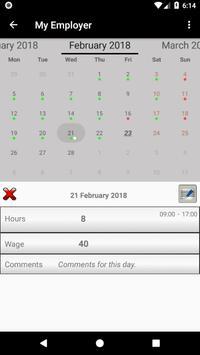 Working Diary screenshot 2