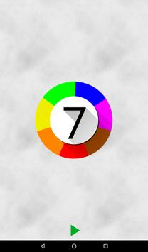Catch 7 colors apk screenshot
