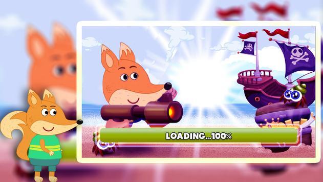 super fox family adventure pirate screenshot 4