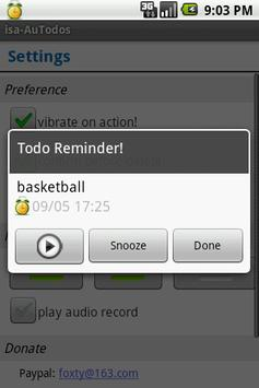 Audio Reminder screenshot 2