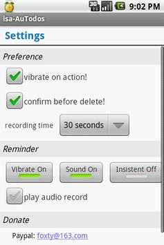 Audio Reminder screenshot 3