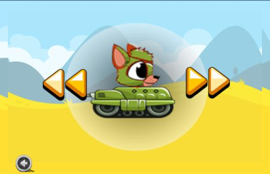 Little Foxy Tank Adventure apk screenshot