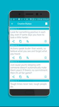 27,000 English sms app | Status and quotes apk screenshot