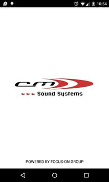 CM Sound Systems poster