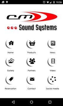 CM Sound Systems apk screenshot