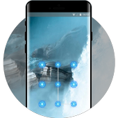 fog and mountain cool lock theme wallpaper icon