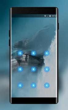 fog and mountain cool lock theme wallpaper screenshot 1