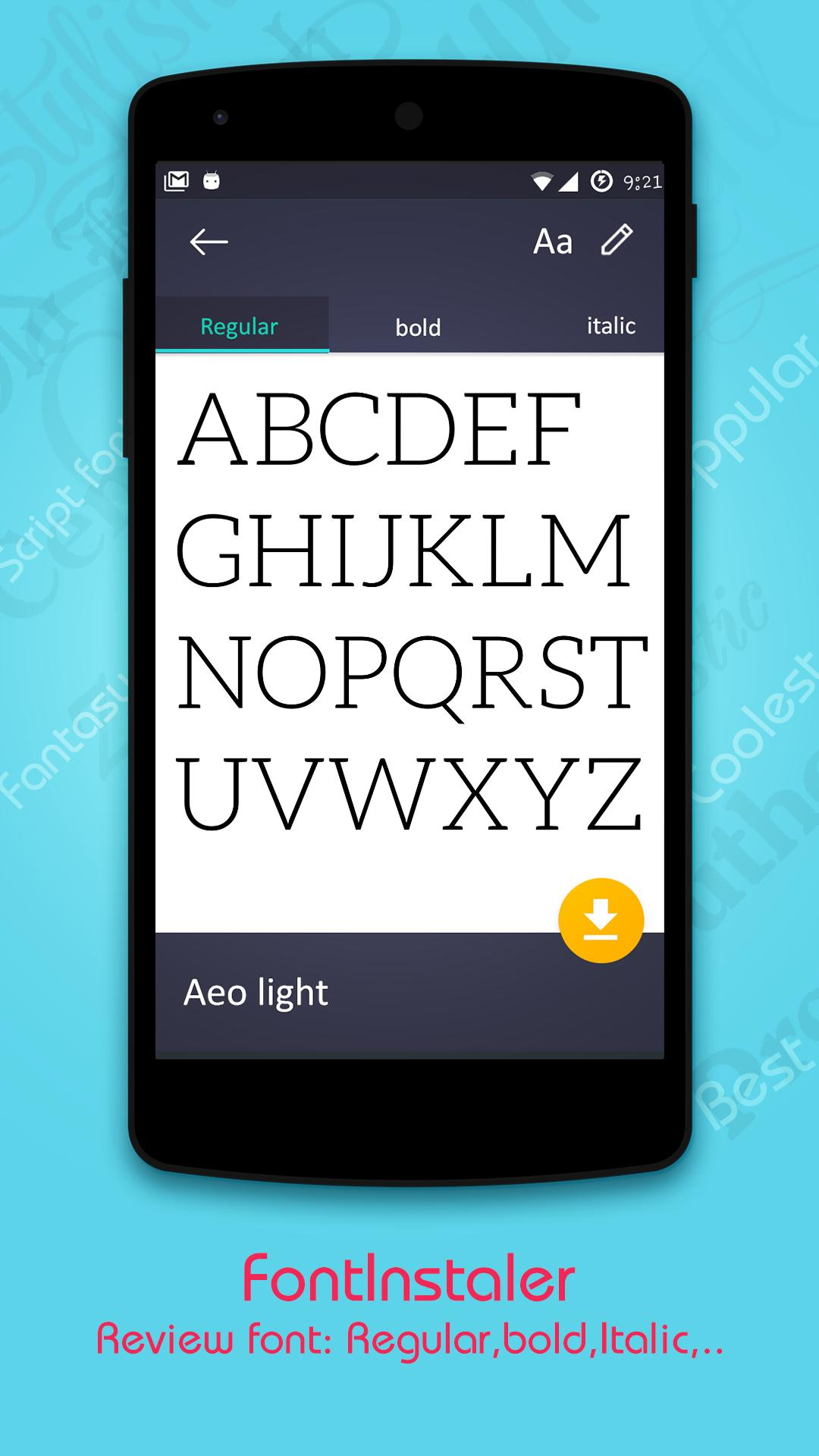 Download Fonts for iPhone X for Android - APK Download