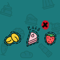 Food Cake Fruit Icons