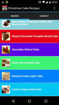 Christmas Cake Recipes screenshot 2