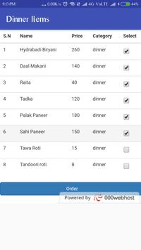 Food Ordering System screenshot 7