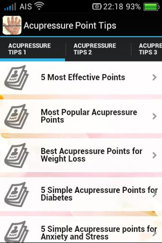 Acupressure Points Tips for Android - APK Download