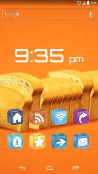 Food Equalizer Live Wallapaper apk screenshot