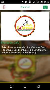 Expresso Cafe & Restaurant apk screenshot