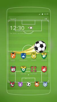 Football Champion Pitch poster