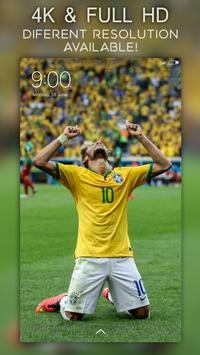 6 Schermata 🔥 Neymar Wallpapers 4K | Full HD Backgrounds 😍