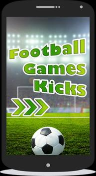 football games kicks poster