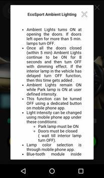 EcoSport Ambient Lighting screenshot 2