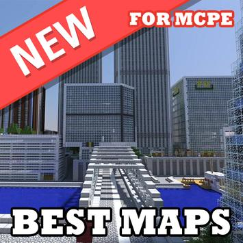 Maps for Minecraft PE poster