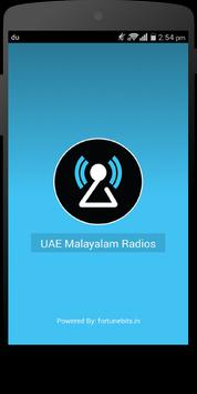 UAE Radios Malayalam poster