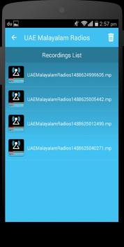 UAE Malayalam Radio apk screenshot