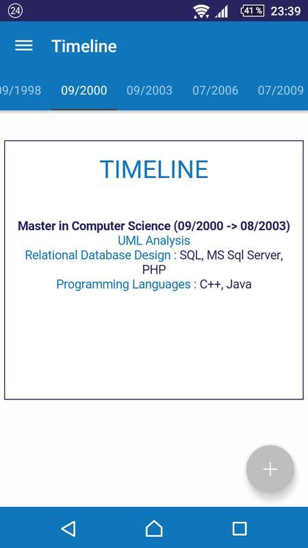 My Resume Descarga APK - Gratis Empresa Aplicación para Android ...