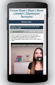 Diyet Programı screenshot 2