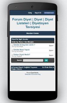 Diyet Programı screenshot 7