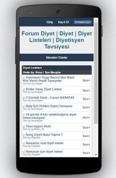 Diyet Programı screenshot 9