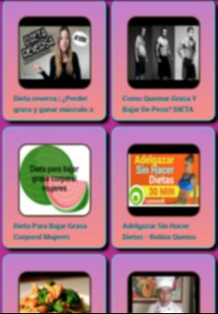 Fat burning diets apk screenshot