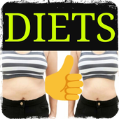 Fat burning diets icon