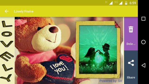 Lovely Frame apk screenshot