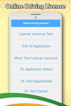 Drivning Licence Apply Online poster