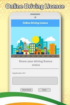 Drivning Licence Apply Online apk screenshot