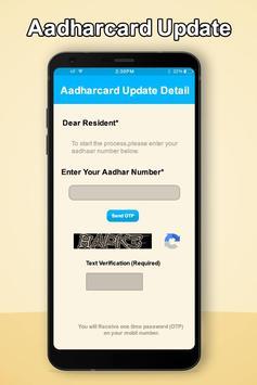 Update Aadhar Card Online - Correction Aadhar Card screenshot 4