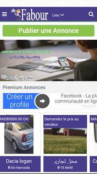 Fabour.Ma Annonces Maroc apk screenshot