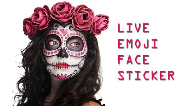 Live Emoji Face Stickers poster