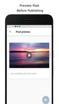 Upload videos to Facebook and Youtube poster
