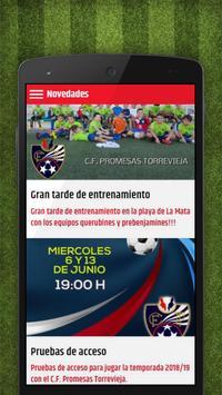 CF Promesas Torrevieja screenshot 1