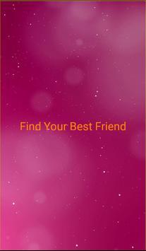 Find a Friend poster