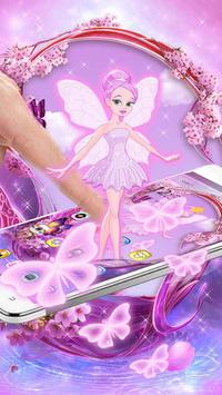 Pink Fairy Theme poster