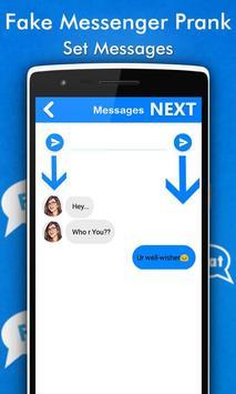 Fake Chat Conversations Prank screenshot 1