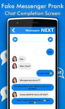 Fake Chat Conversations Prank screenshot 2