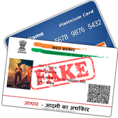 Fake ID Card Maker for India icon