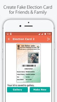 Fake ID Card Maker for India screenshot 4