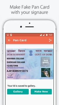 Fake ID Card Maker for India screenshot 2