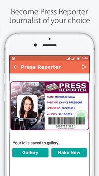 Fake ID Card Maker for India screenshot 3